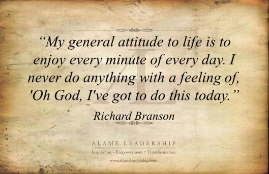 AL Inspiring Quote on Enjoying Life 2