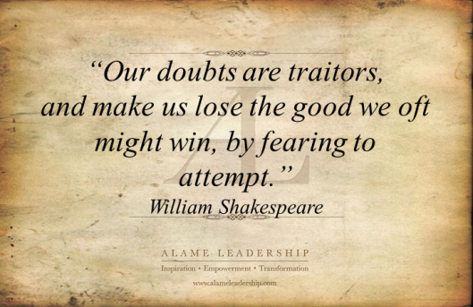 Al Inspiring Quote On Self Discovery: William Shakespeare's Week: AL Inspiring Quote On Facing