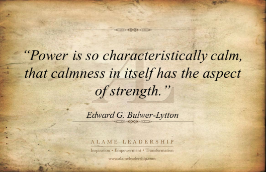 AL Inspiring Quote on Power