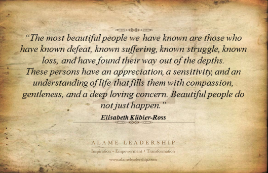 AL Inspiring Quote on Beautiful People
