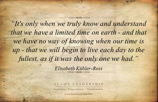 AL Inspiring Quote on Limit of Time 2