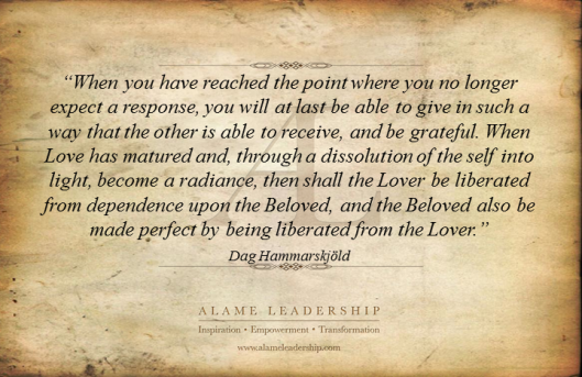 AL Inspiring Quote on True Love