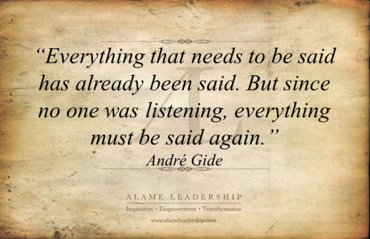 AL Inspiring Quote on Repetition to Learn