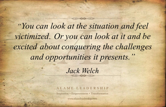 AL Inspiring Quote on Seeing the Opportunity