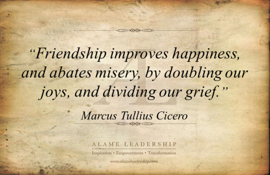AL Inspiring Quote on Friendship