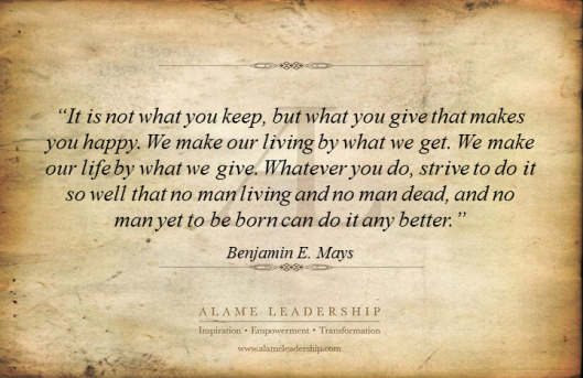 AL Inspiring Quote on Life  and Work