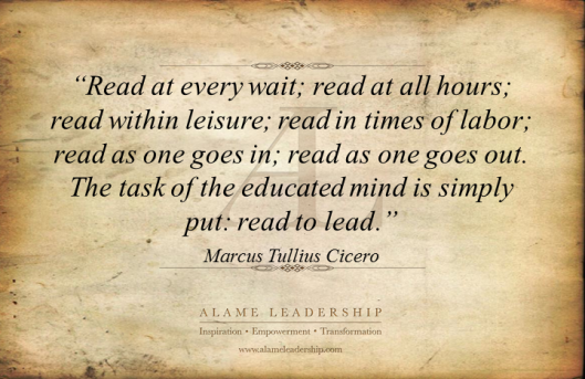 AL Inspiring Quote on Reading