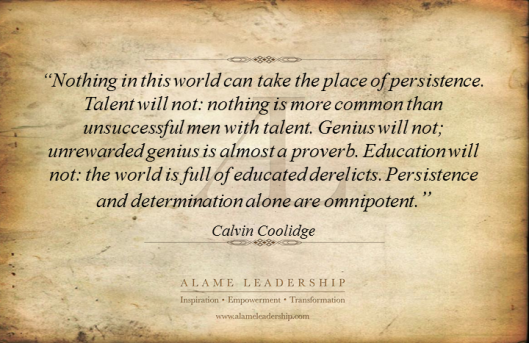 AL Inspiring Quote on Persistence 11