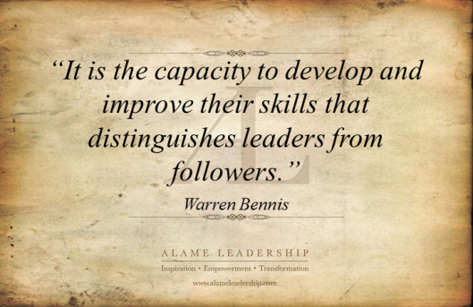 AL Inspiring Quote on Leadership & Learning