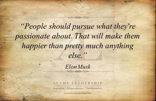 AL Inspiring Quote on Passion