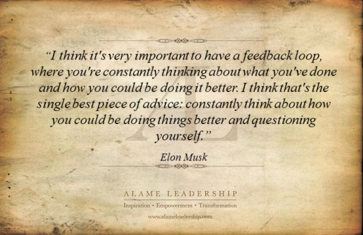 AL Inspiring Quote on Reflecting