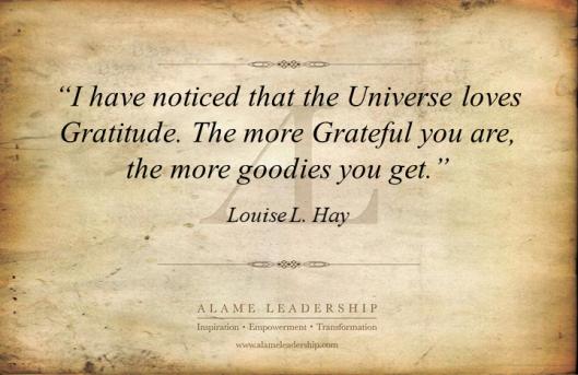 AL Inspiring Quote on Gratitude