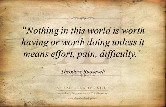 AL Inspiring Quote on Hard Work