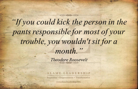 AL Inspiring Quote on Personal Responsibility