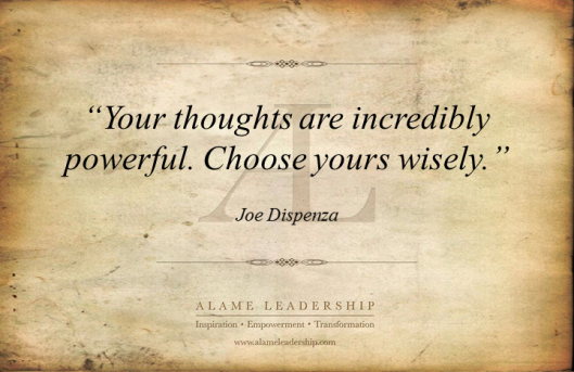 AL Inspiring Quote on Thoughts 2
