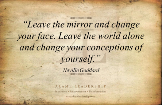 AL Inspiring Quote on Self Change