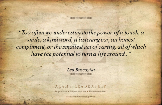 AL Inspiring Quote on the Power of Kindness