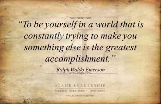 AL Inspiring Quote on Authenticity 2