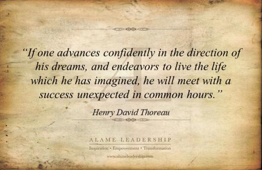 AL Inspiring Quote on Dreams