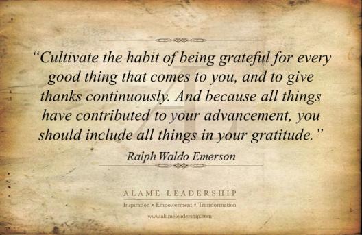 AL Inspiring Quote on Gratitude 2